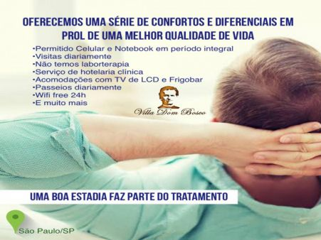 MORADIA ASSISTIDA EM SÃO PAULO/SP • Permitido Celular, Notebook, Visitas e Passeios Diários • ELEITA MELHOR DO BRASIL