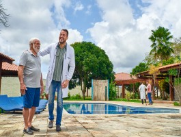 O melhor ambiente para a recuperação de idosos