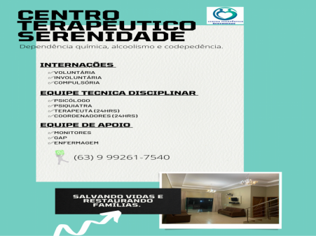 CENTRO TERAPÊUTICO SERENIDADE