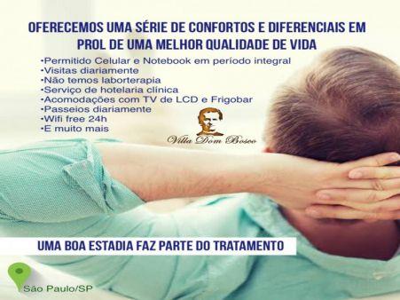 MORADIA ASSISTIDA EM SÃO PAULO/SP • RESIDÊNCIA TERAPÊUTICA EM SÃO PAULO/SP • Permitido Celular, Notebook, Visitas e Passeios Diários • ELEITA MELHOR DO BRASIL